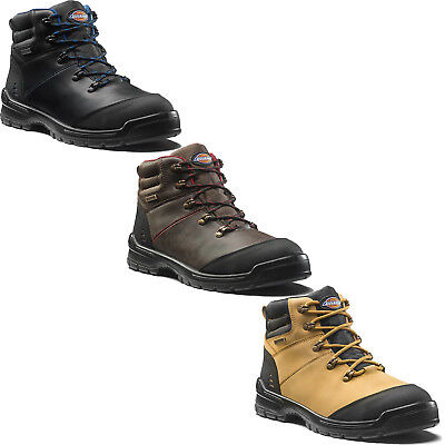 DICKIES CAMERON SAFETY Work Boots (Sizes 6 12) Men's Black, Brown & Tan Shoes