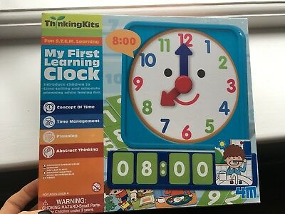 4M Tell Time Learning Clock Thinking Kit