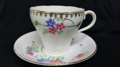 Adderley Vintage Tea Cup 1909 Bone China Cup and Saucer England