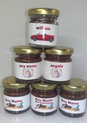NEW MINI NUTELLA Glass Jar 25g Each 64 Pk  Best Before 21/10