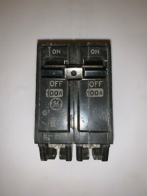 GE THQL21100 CIRCUIT BREAKER 2 POLE  100 AMP 240 VAC Model K
