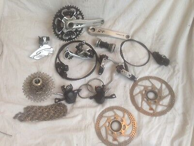 Shimano XT 3x10 Gruppe FC M750 Disc XTR tune it