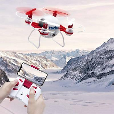 RC TR001 Mini Drone With HD Camera WiFi FPV Headless Mode Helicopter Quadcopter