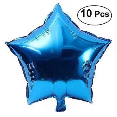 Star Foil Balloon, Party Five-Point Mylar Balloons Wedding Birthday Party Deco