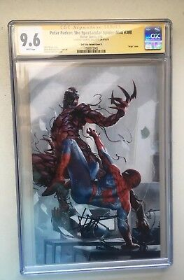 Peter Parker Spectacular Spider-Man 300 Cgc 9.6 Signed Dell'otto Virgin Variant
