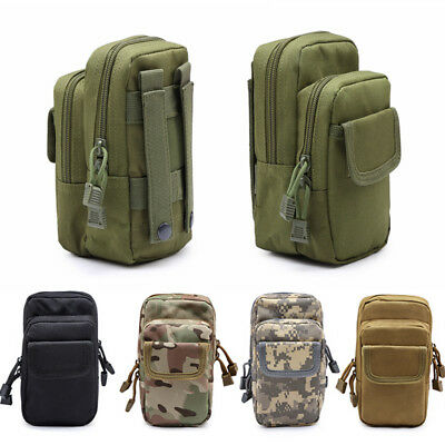 CQC Outdoor Military Army Tactical Molle Waist Pack EDC Tool Utility Sundries