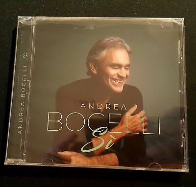 Andrea Bocelli - Si (2018) (Brand New CD) Factory Sealed