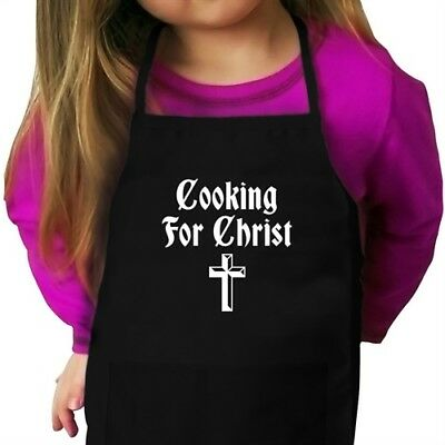 Cooking For Christ Christian Kid Apron