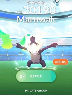 Pokemon Go Alolan Marowak Raid Capture Buy 3 Get 1 Free EX Raid (Shiny Chance)