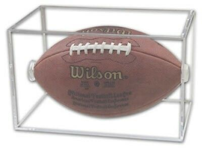(1) New! Pro Mold Square Football Holder PCFOOTBALL with 5 Year UV Made in USA!