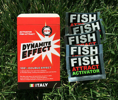 DYNAMITE EFFECT Bait Activator for Successful Fishing Attract. Fish Attract