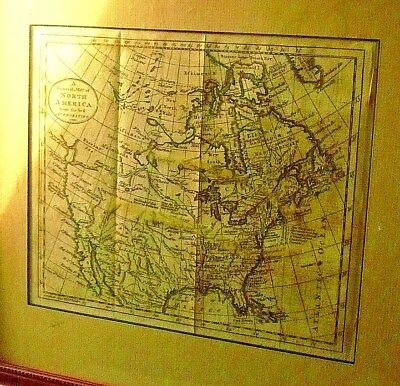 "LAST CHANCE!RARE18th Cent.Map(1790)N.Amer.by,GUTHRIN!Copper Pl.Engr.""P.777:GEN."