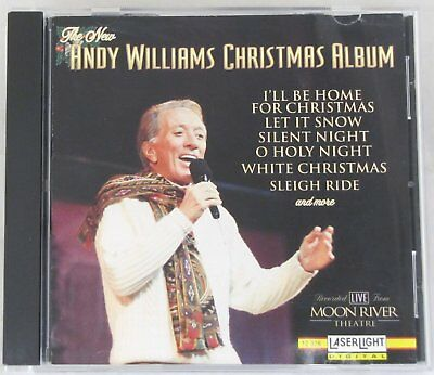 The New Andy Williams Christmas Album CD Holiday Music Santa Holy Silent Night