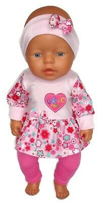 BABY BORN dolls clothes suits 43cm doll or similar girls gift boy girl outfit