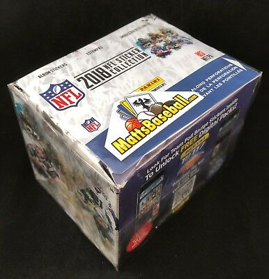2018 Panini NFL Football stickers Factory Sealed Box 50 packs/5 stickers