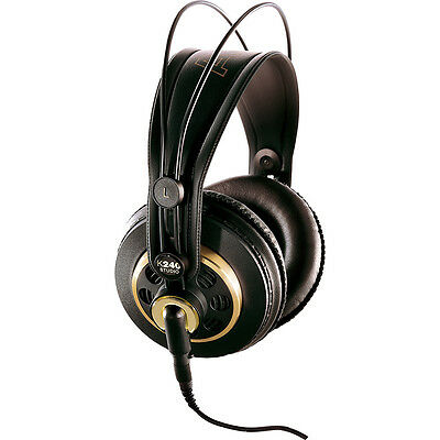 AKG K240 Semi-Open Over Ear Studio Monitoring Mixing Mastering Headphones