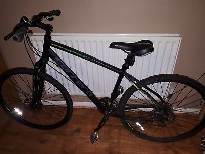a05fb4820d2 CARRERA CROSSFIRE 2 Mens Hybrid Bike - Black - 21