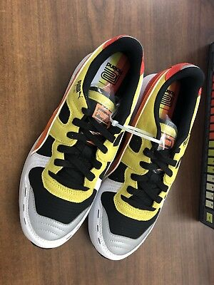 Mens PUMA x Roland Limited Edition TR 808 RS-100 Sneaker Yellow Orange Red  8.5 707d37194