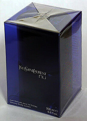 YSL NU 200 ml Velvety Body Lotion by YSL - Cellophane Sealed