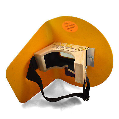 The Original Pancake Welding Hood w/ Strap - Right Handed
