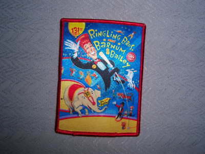 Ringling Bros Barnum and Bailey Circus Patch Patch 131st CIRCUS