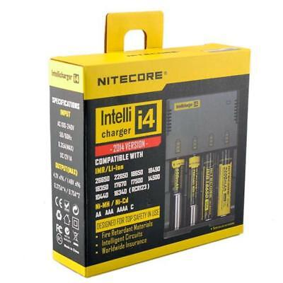 NEW 2014 NITECORE i4 V2 Intelli charger For AA 18650 18500 14500 18350 18700