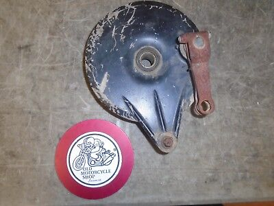 Can Am Tnt125 / Tnt175 Rear Brake Plate Oem 743-030-000