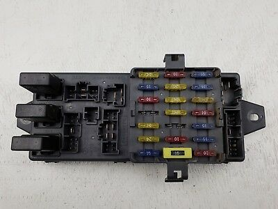 1995-1997 subaru legacy outback oem under dash fuse box relay 622074