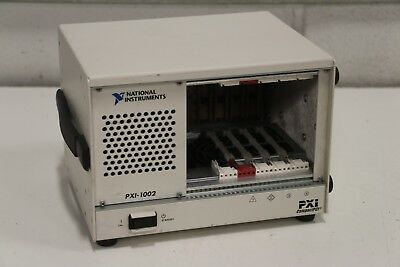 National Instruments NI PXI-1002 745749-01 NI CompactPCI PXI 4-Slot Chassis