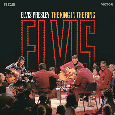 Elvis Presley The King In The Ring 180gm vinyl 2 LP NEW/SEALED
