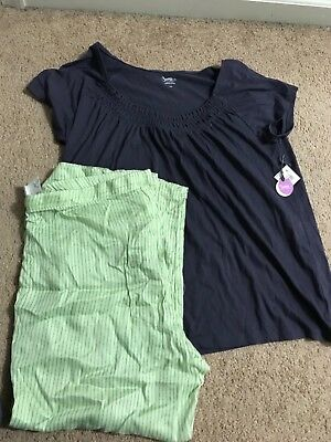 bump in the night maternity nursing set purple and green new large
