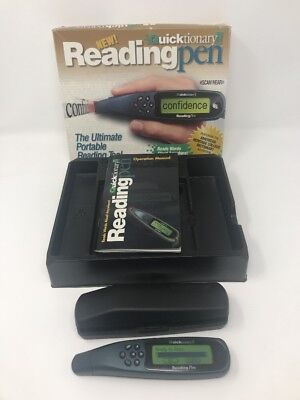 Quicktionary II Reading Pen - Dictionary  Scan and Hear words and definitions!