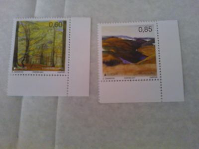 LUXEMBOURG 2011 - Europa  mint set of 2 stamps