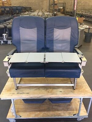 Vintage Delta Airlines First Class Seats