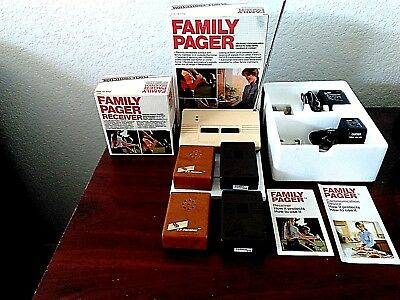 Vintage 1982 Family Pager Electronic Communication Transmitter Device 520304 NOS