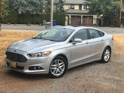 2013 Ford Fusion SE with EcoBoost 2013 Ford Fusion