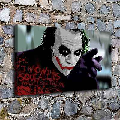"Clown 16""x28"" HD Canvas prints Painting Home decor Picture Room Wall art Poster"