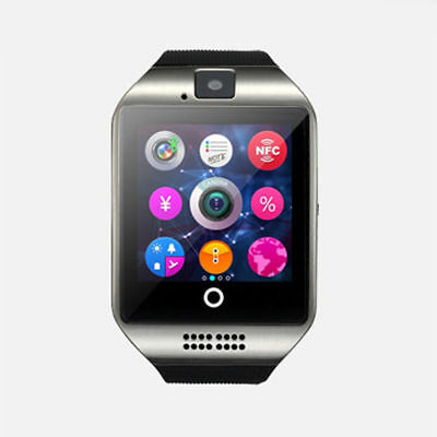 Q18 Bluetooth Reloj Inteligente Smartwatch GSM SIM Impermeable para Android IOS