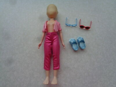 What's Her Face Doll Mattel No Face Clothes Shoes Sunglasses Exc Cond