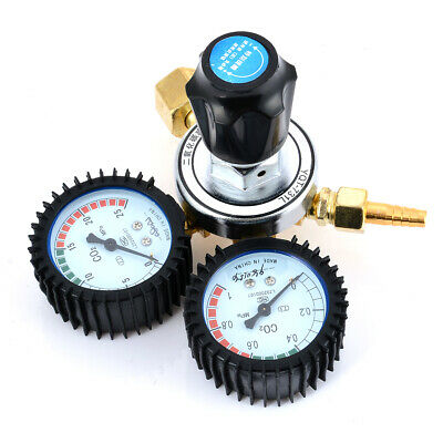 CO2 Pressure Reducing Regulators Valve Flow Meter For MIG Welding Beer Brew
