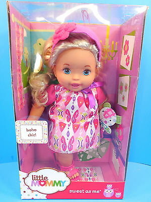 Fisher Price Little Mommy Doll Sweet As Me Boho Chic  New See Description