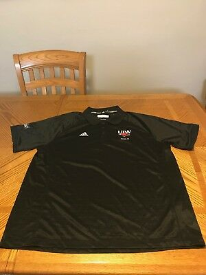 University of the Incarnate Word Cardinals Polo Shirt Adidas Jersey T-shirt XL