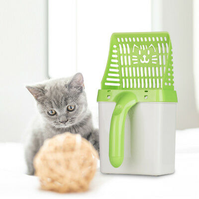 Cat Litter Scoop Plastic Waste Scooper Poop Pet Sand Shovel Cleaning Tool
