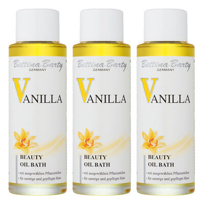 Bettina Barty Vanilla Beauty Oil Bath 3er Sparset a 200ml