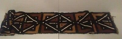 New! African Handmade Mudcloth  Table Runner