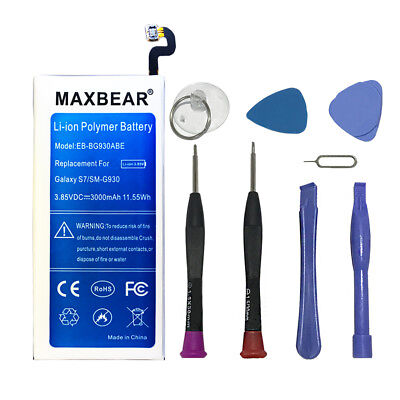 MAXBEAR 3000MAH SPARE Battery for Samsung Galaxy Note 5 SM-N920T T