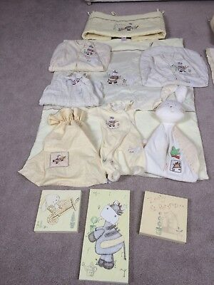 Mamas And Papas Zeddy And parsnip Nursery And Corp bed Bedding Set