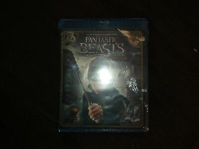 New Blu Ray Dvd Fantastic Beasts And Where To Find Them Movie