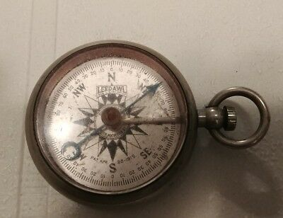 Antique Leedawl Short & Mason Taylor Compass, Rochester NY. Pat 1915 - Works