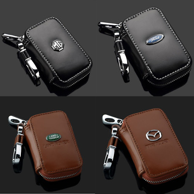 Remote Control Auto Car Key Chain Holder Case Bag Clip Wallet Pouch Zippered Bag